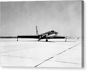 U-2 Reconnaissance Aircraft Canvas Print by Underwood Archives