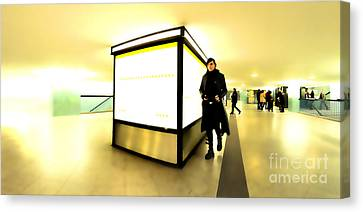U-bahn Canvas Print by Phil Robinson