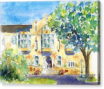 U Of S College Building Canvas Print