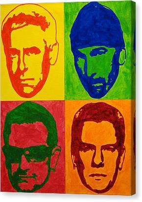 U2 Canvas Print by Doran Connell