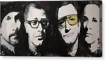 U2 Force Canvas Print by John Barth