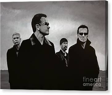 U2 Canvas Print by Paul Meijering