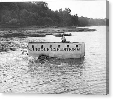 Ubique Expedition Company Canvas Print by Underwood Archives