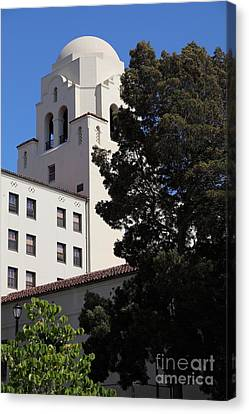 Uc Berkeley International House College Dormatory 5d24741 Canvas Print by Wingsdomain Art and Photography