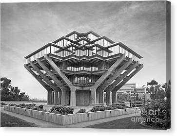 University Of California San Diego Geisel Library  Canvas Print by University Icons