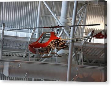Udvar-hazy Center - Smithsonian National Air And Space Museum Annex - 1212101 Canvas Print by DC Photographer