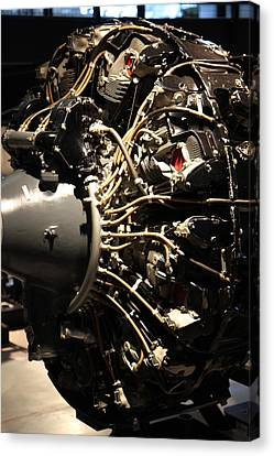 Udvar-hazy Center - Smithsonian National Air And Space Museum Annex - 121216 Canvas Print by DC Photographer