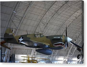 Udvar-hazy Center - Smithsonian National Air And Space Museum Annex - 121251 Canvas Print