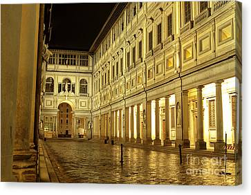 Uffizi Gallery Florence Italy Canvas Print by Ryan Fox