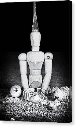 Uh Oh Screwed Again Canvas Print by Tom Mc Nemar