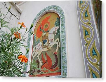 Ukraine, Sevastopol Area, City Canvas Print by Cindy Miller Hopkins