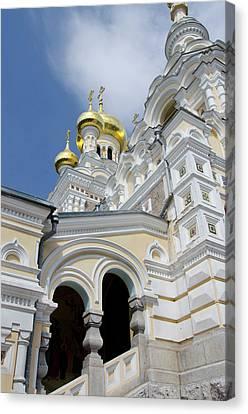 Ukraine, Yalta Exterior Of Saint Canvas Print