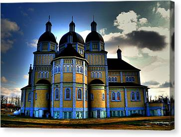 Ukrainian Catholic Church Of The Immaculate Conception Canvas Print by Larry Trupp