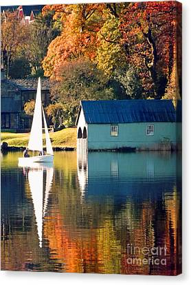Ullswater Canvas Print by Linsey Williams