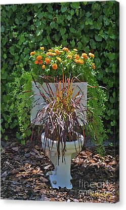 Ultimate Flower Pot 2 Canvas Print by Dodie Ulery