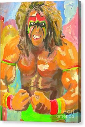 Ultimate Warrior Canvas Print by John Morris