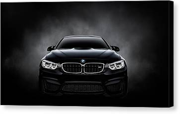 Bmw Canvas Print - Ultimatum by Douglas Pittman