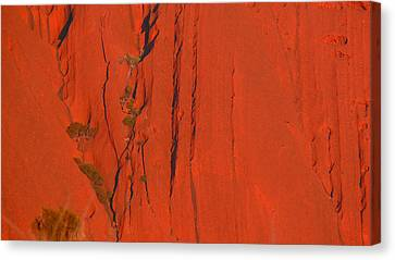 Canvas Print featuring the photograph Uluru 3 by Evelyn Tambour