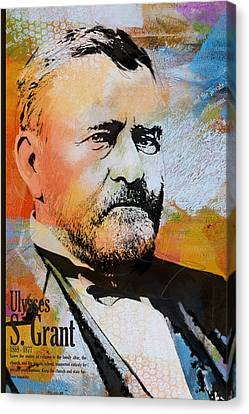 James Madison Canvas Print - Ulysses S. Grant by Corporate Art Task Force