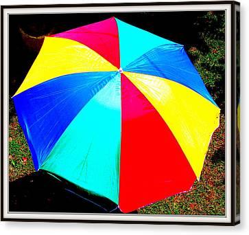 Umbrella-2 Canvas Print by Anand Swaroop Manchiraju