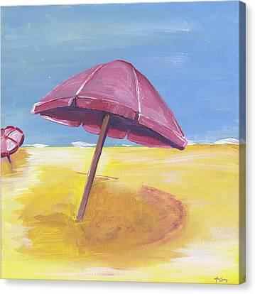 Umbrella Canvas Print by Anne Seay