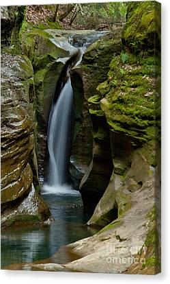 Un-named Falls Canvas Print