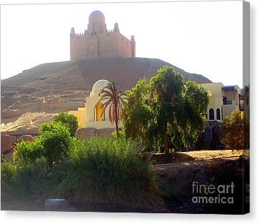 Alberi Canvas Print - Una Moschea Nel Deserto by Adriana Otetea