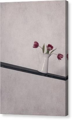 Unbalanced Flowers Canvas Print by Joana Kruse