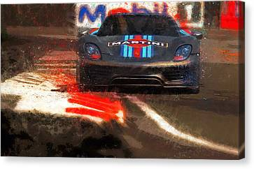 Unleashed Canvas Print by Alan Greene