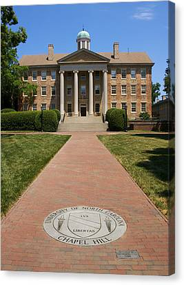 Unc-ch South Building Canvas Print