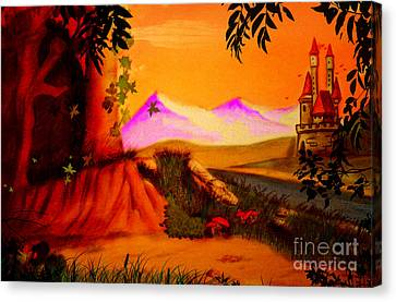 Unce Upon A Time Canvas Print
