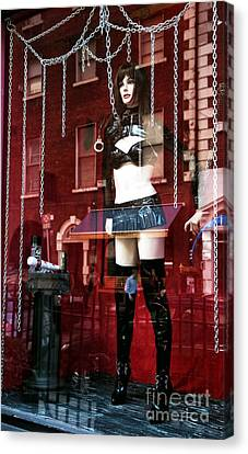 Toy Shop Canvas Print - Unchain Me by John Rizzuto