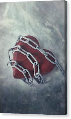 Unchain My Heart Canvas Print by Joana Kruse
