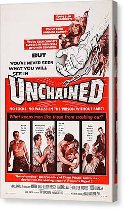 Unchained, Us Poster Art, 1955 Canvas Print
