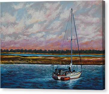 Uncharted Territory Canvas Print by Eve  Wheeler