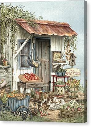 Uncle Ralph's Veggies Canvas Print