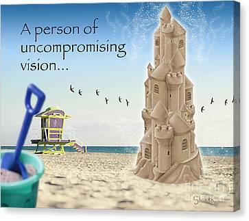 Uncompromising Vision Canvas Print