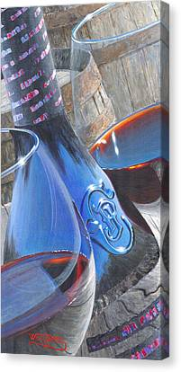 Uncorked II Canvas Print by Will Enns