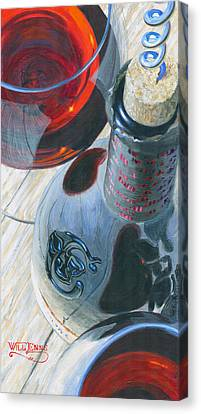 Uncorked Canvas Print by Will Enns
