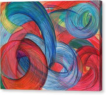 Uncovered Curves Canvas Print by Kelly K H B