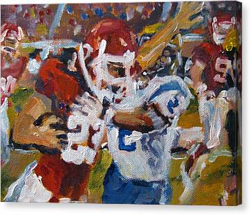 Undefeated Canvas Print by Susan E Jones