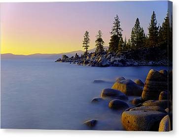 Under Clear Skies Canvas Print by Chad Dutson