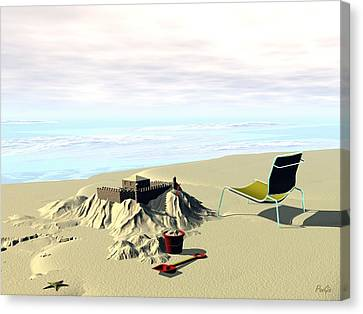Under Construction Canvas Print by John Pangia