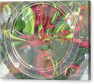 Under Glass Canvas Print by Kathie Chicoine