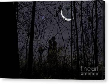 Under Moon Canvas Print