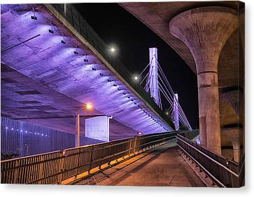 Under The Bridge Canvas Print