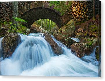 Under The Bridge Canvas Print by Joseph Rossbach