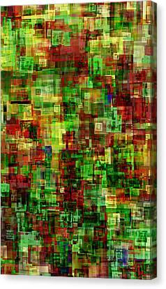 Under The Christmas Tree Canvas Print by Matt Lindley
