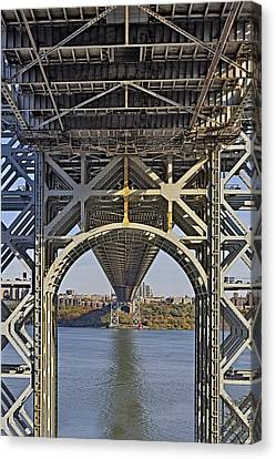 Under The George Washington Bridge I Canvas Print