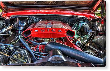 Under The Hood Canvas Print by Amanda Stadther